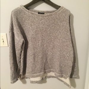 Eileen Fisher cotton Box Top